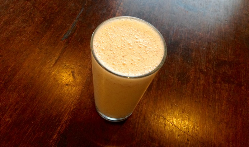 protein shakes are perfect for refuelling after a run